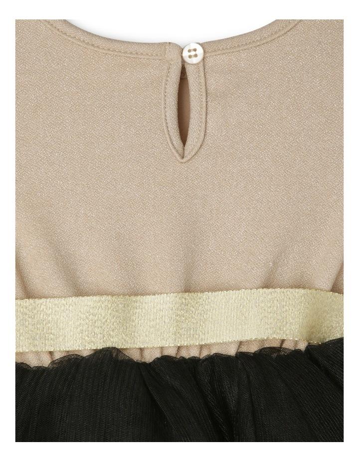 Gold Glitter Black Skirt Tutu - Toddler 0-2. image 3