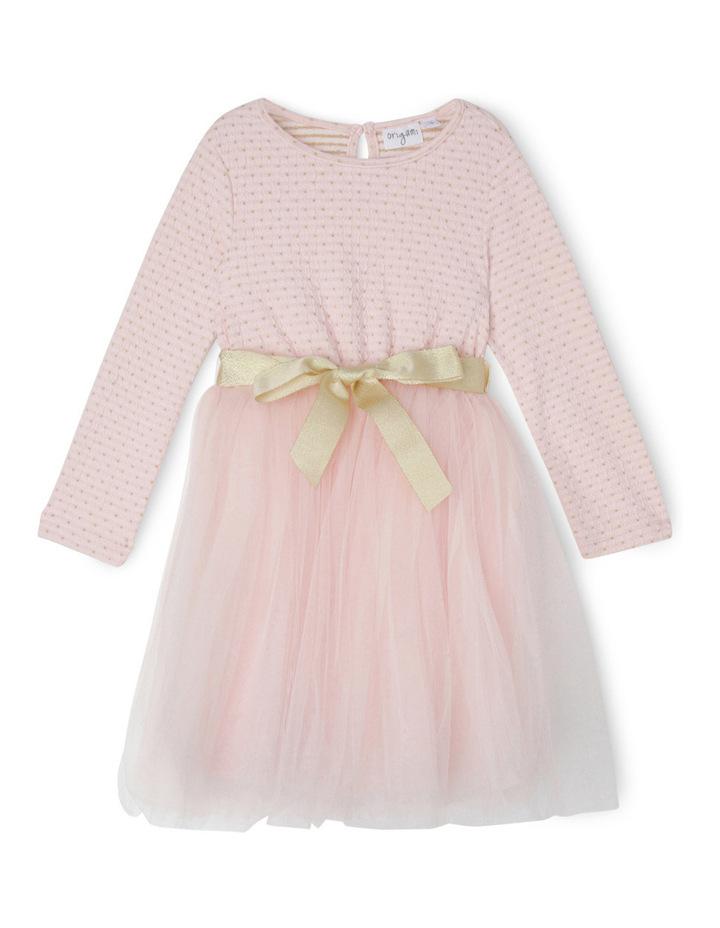 Daisy Tutu. Pink/Gold. Junior 3-8. image 1