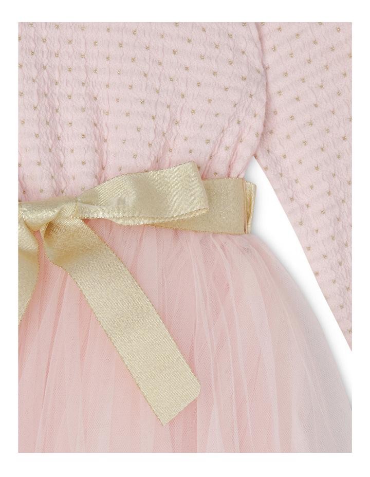 Daisy Tutu. Pink/Gold. Junior 3-8. image 2