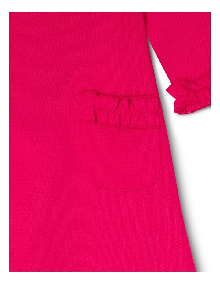 Tg Red Ponti Frill Pocket Dress 0-2 image 2