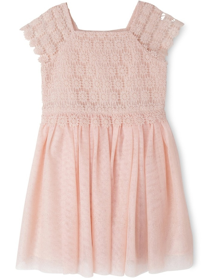 Isabella Glitter Mesh Dress (3-8 Years) image 1