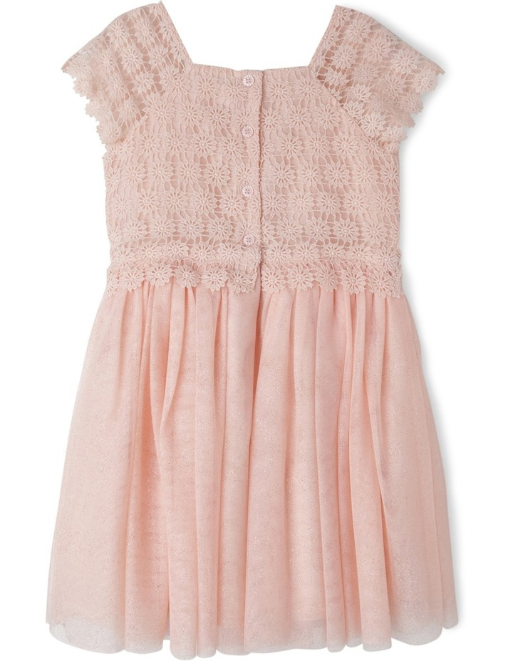 Isabella Glitter Mesh Dress (3-8 Years) image 2