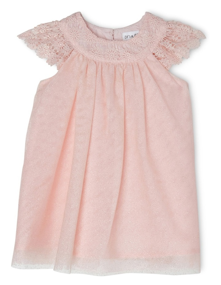 Isabella Glitter Mesh Dress (0-2 Years) image 1