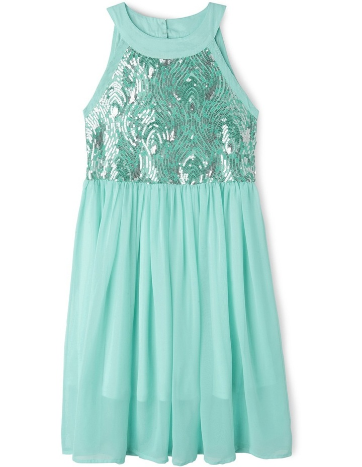 Hailey Long Woven Dress (9-16years) image 1