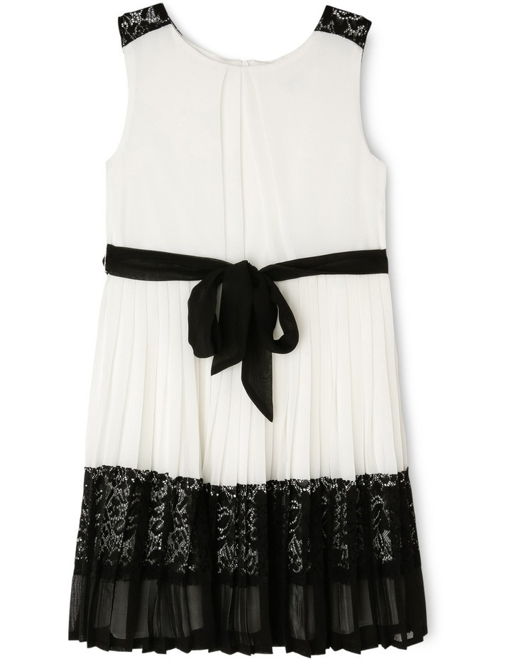 Lily Woven Pleated Dress (3-8 Years) image 1