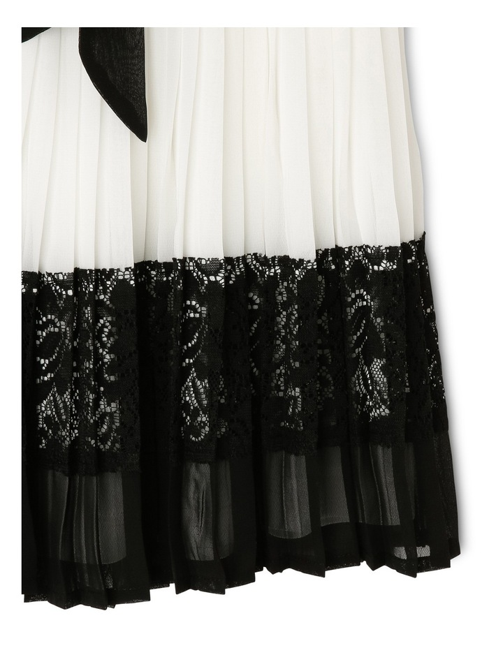 Lily Woven Pleated Dress (3-8 Years) image 3