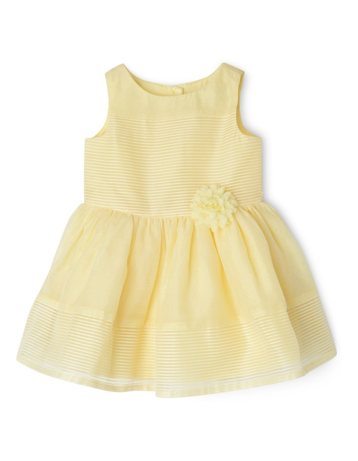 Emily Woven Stripe Dress (0-2 Years) image 1