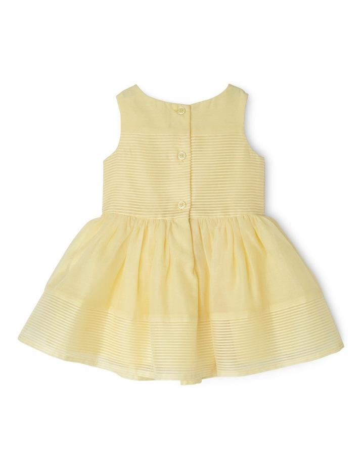 Emily Woven Stripe Dress (0-2 Years) image 2