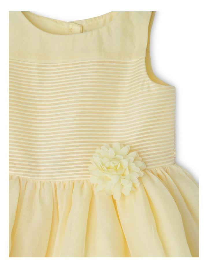 Emily Woven Stripe Dress (0-2 Years) image 3