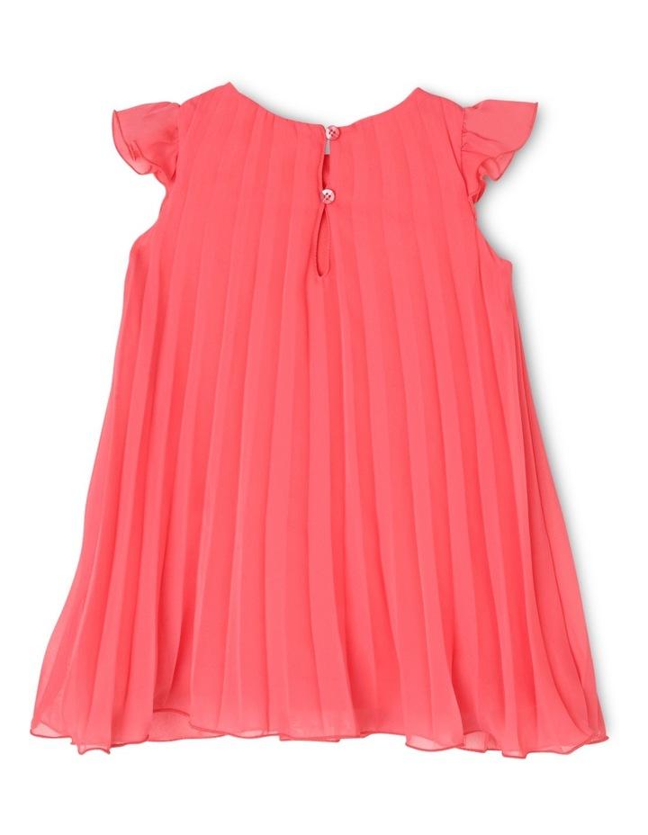 Chloe Woven Pleated Dress (0-2 Years) image 2