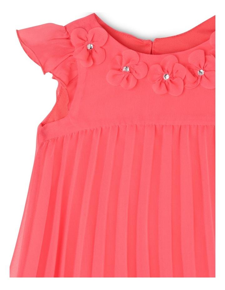 Chloe Woven Pleated Dress (0-2 Years) image 3