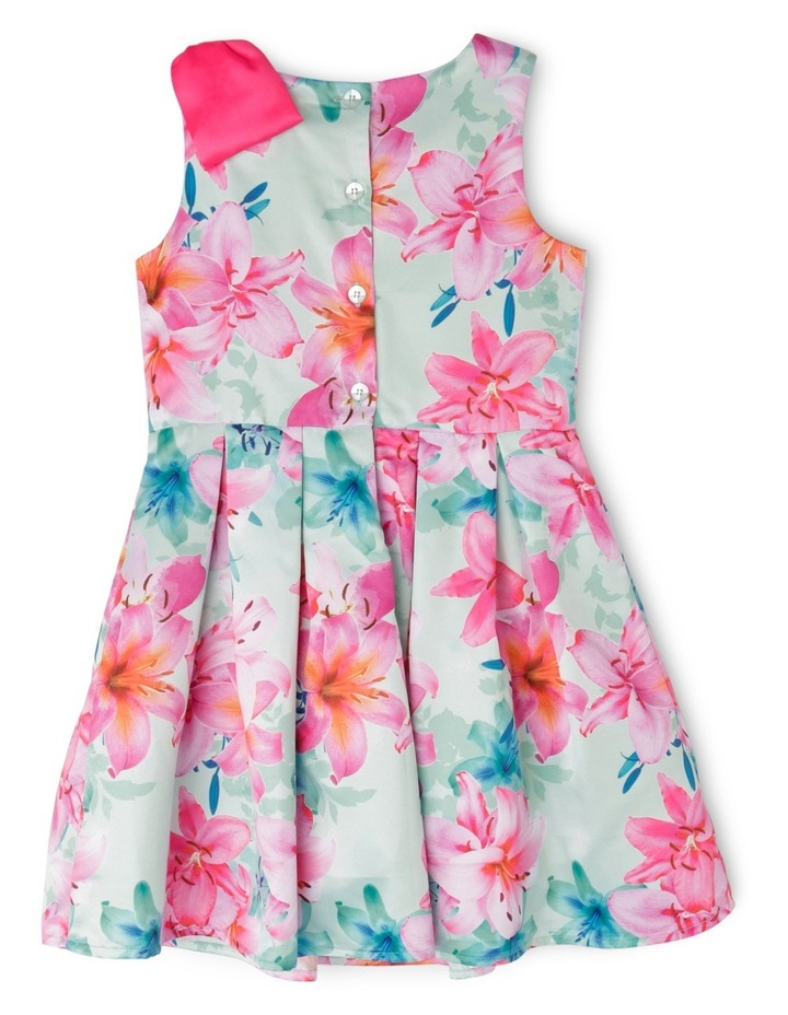 Abigail Woven Dress With Bow (3-8 Years) image 2