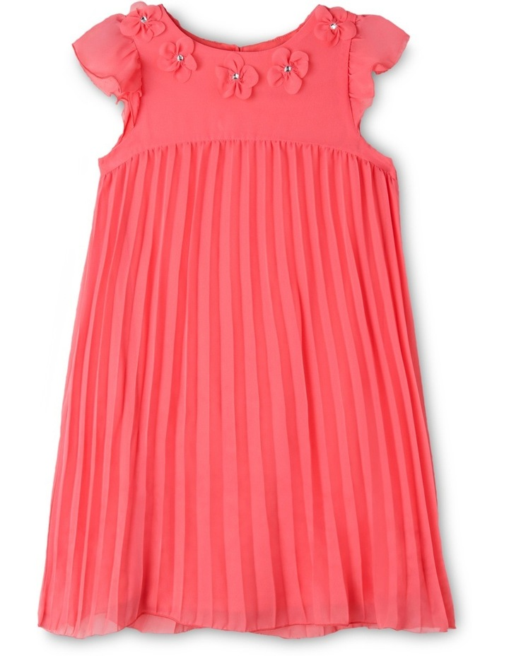 Chloe Woven Pleated Dress (3-8 Years) image 1