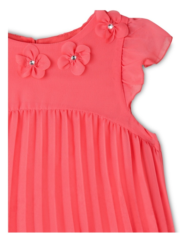 Chloe Woven Pleated Dress (3-8 Years) image 3