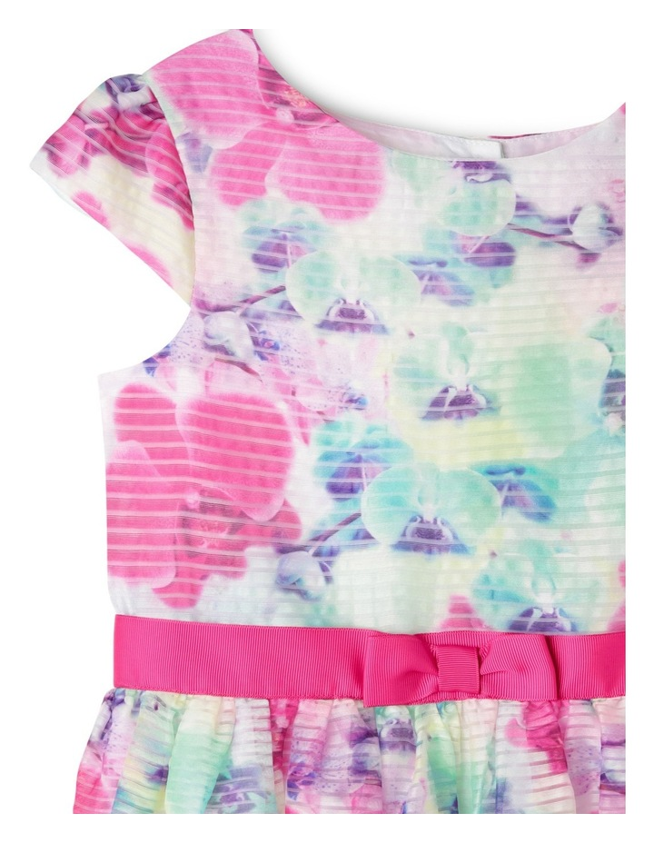 Zoe Woven Organza Dress (3-8 Years) image 3