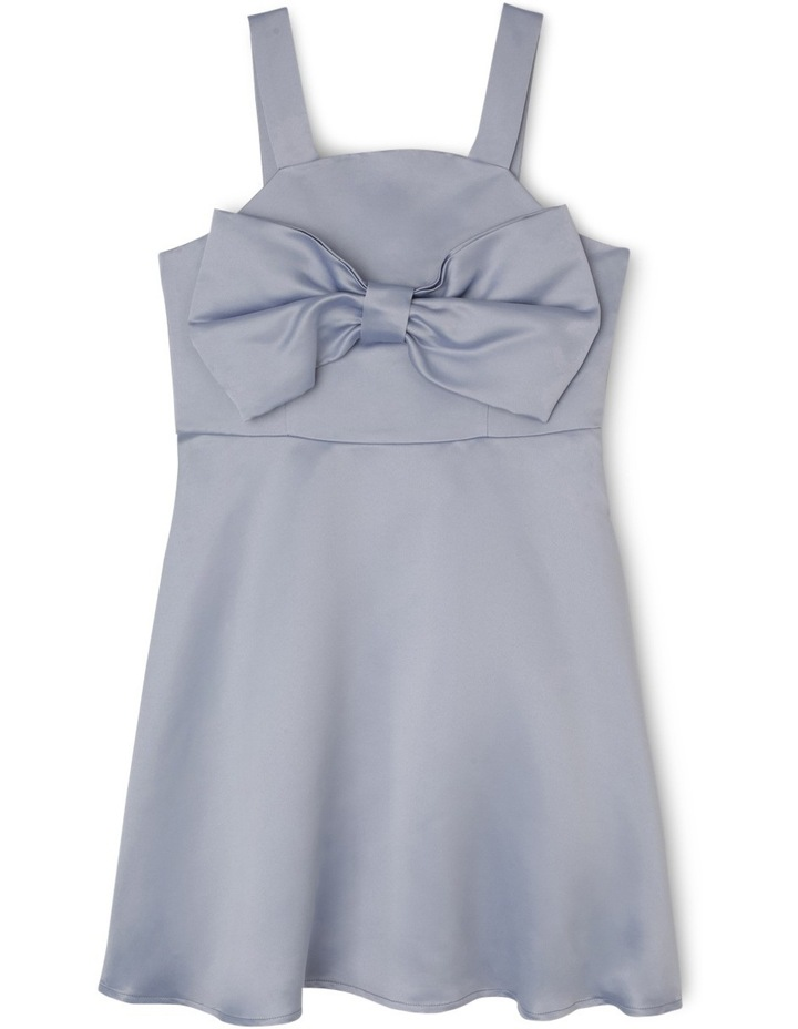 Riley Woven Dress With Bow (9-16 Years) image 1