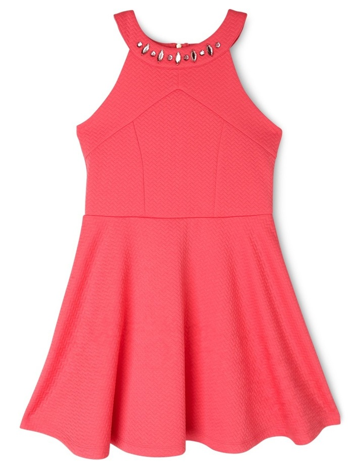 Kylie Textured Knit Dress (9-16 Years) image 1