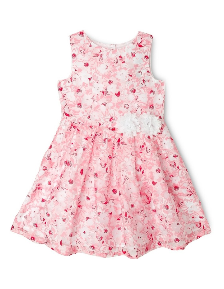 Matilda Burnout Woven Dress (3-8 Years) image 1