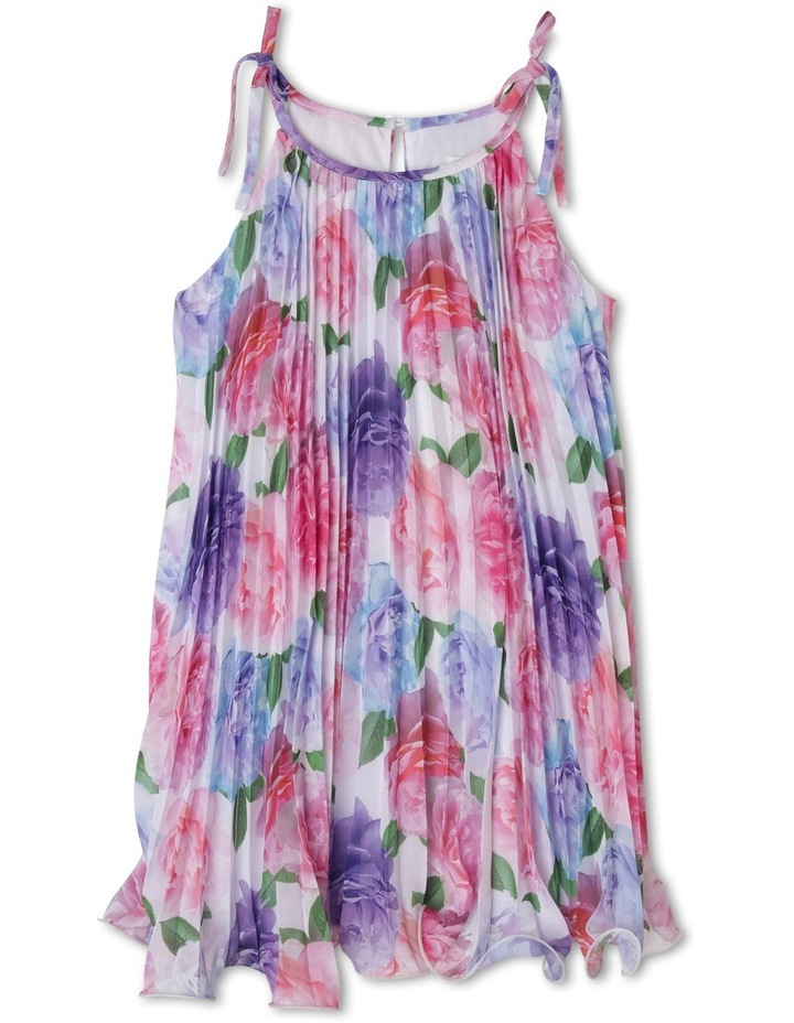 Ruby Woven Pleated Dress (3-8 Years) image 1