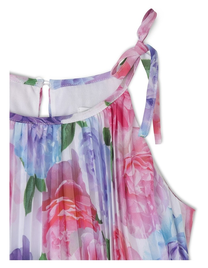 Ruby Woven Pleated Dress (3-8 Years) image 2
