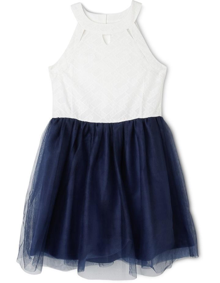 Sienna Knit Lace Dress (9-16 Years) image 1
