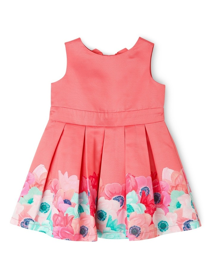 Evie Woven Border Print Dress (0-2 Years) image 1