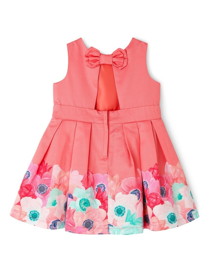 Evie Woven Border Print Dress (0-2 Years) image 2