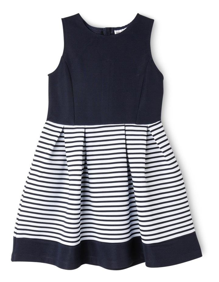 Bella Stripe Knit Dress (3-8 Years) image 1