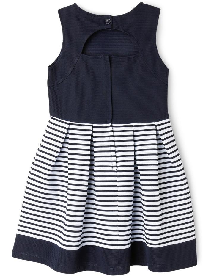 Bella Stripe Knit Dress (3-8 Years) image 2