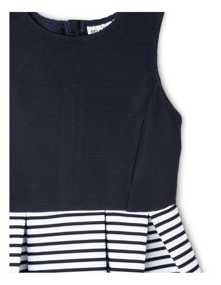 Bella Stripe Knit Dress (3-8 Years) image 3