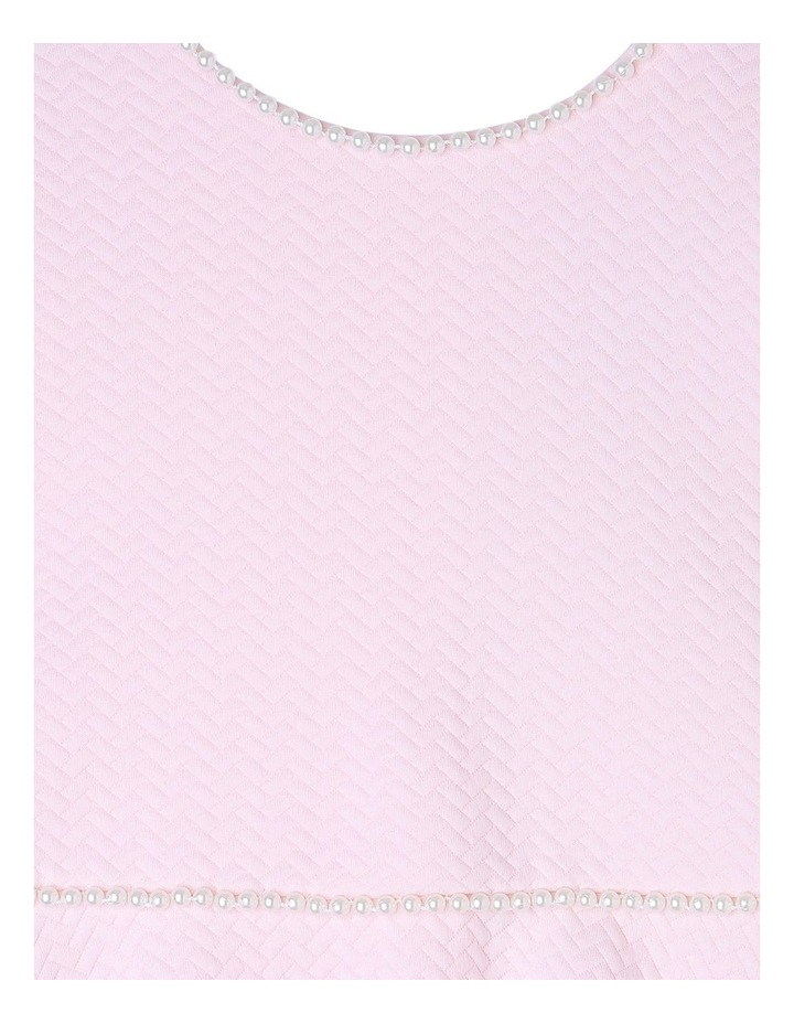 AUDREY PINK PEARL KNIT DRESS (3-8 YEARS) image 2
