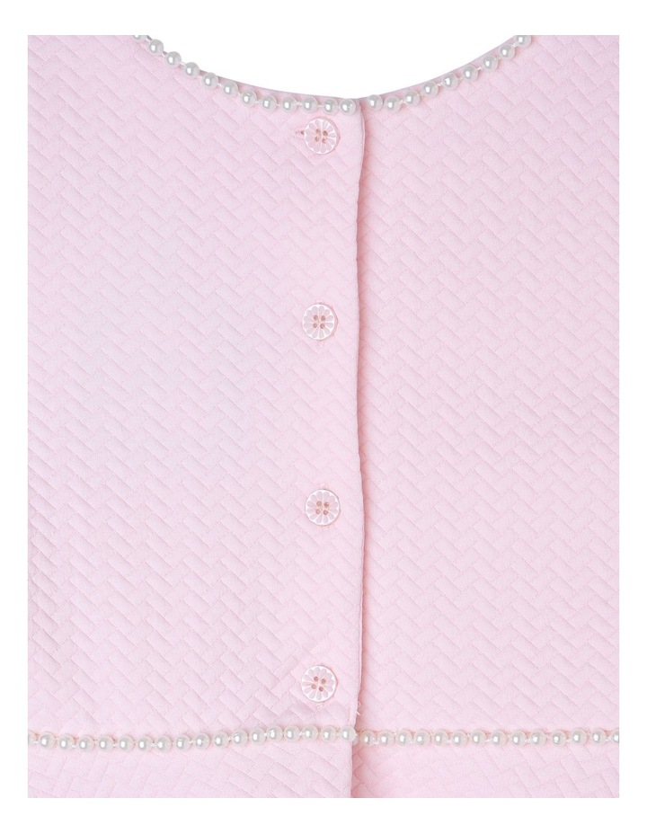 AUDREY PINK PEARL KNIT DRESS (3-8 YEARS) image 3