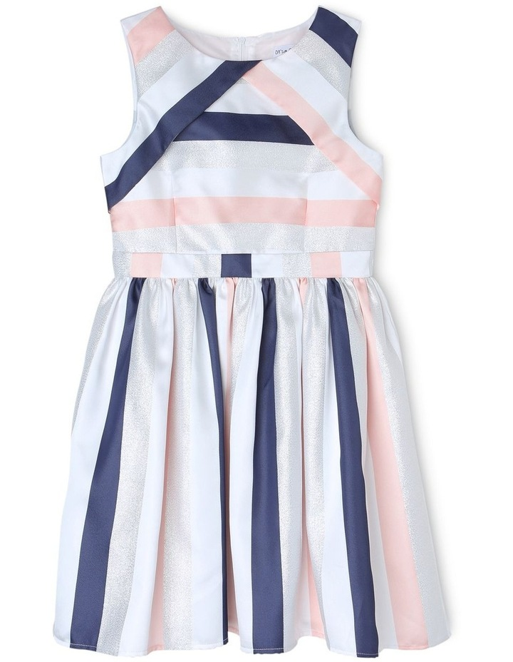 EMILY STRIPE PARTY DRESS (9-16 YEARS) image 1
