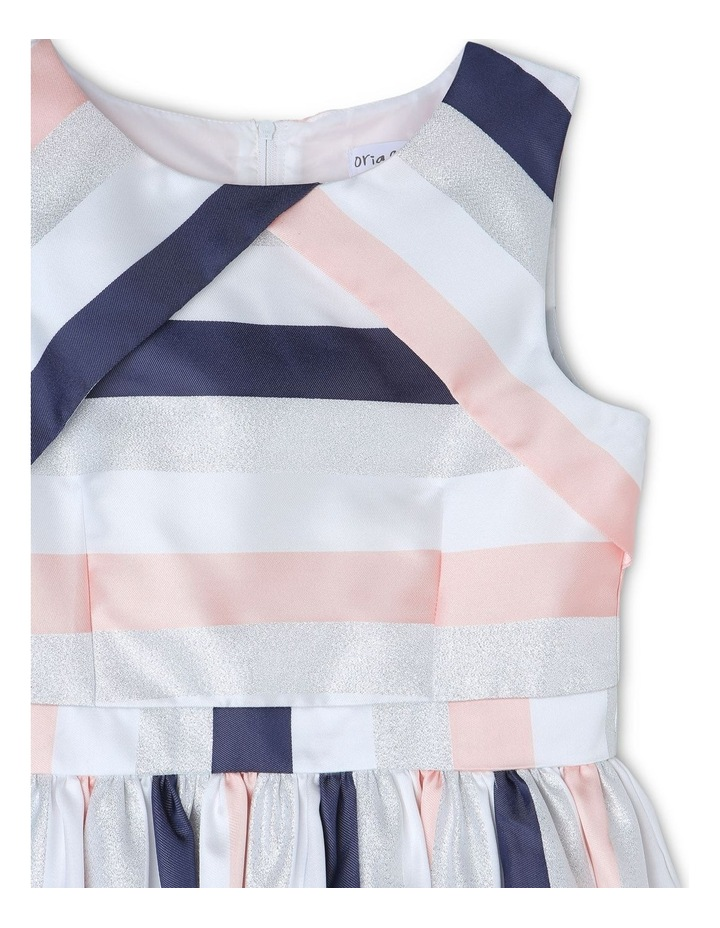 EMILY STRIPE PARTY DRESS (9-16 YEARS) image 2