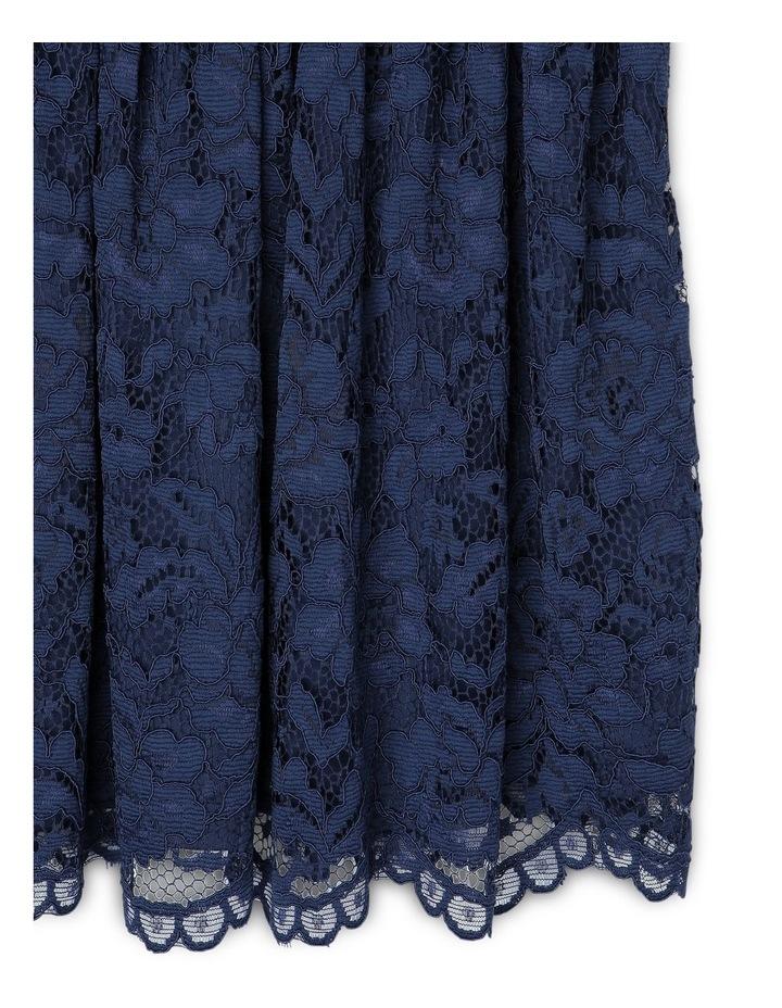 ELLA NAVY LACE DRESS (9-16 YEARS) image 2
