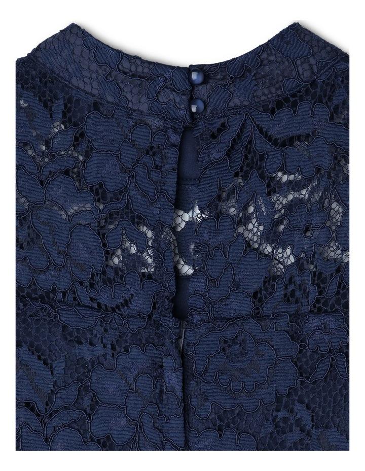 ELLA NAVY LACE DRESS (9-16 YEARS) image 3