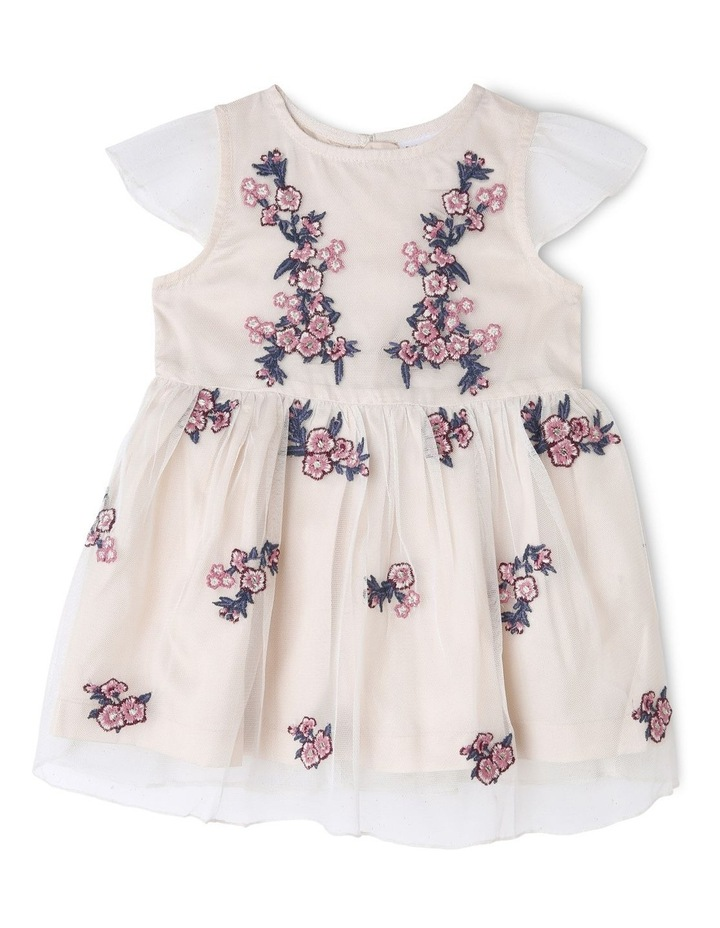 LAURA EMBROIDERED DRESS (0-2 YEARS) image 1