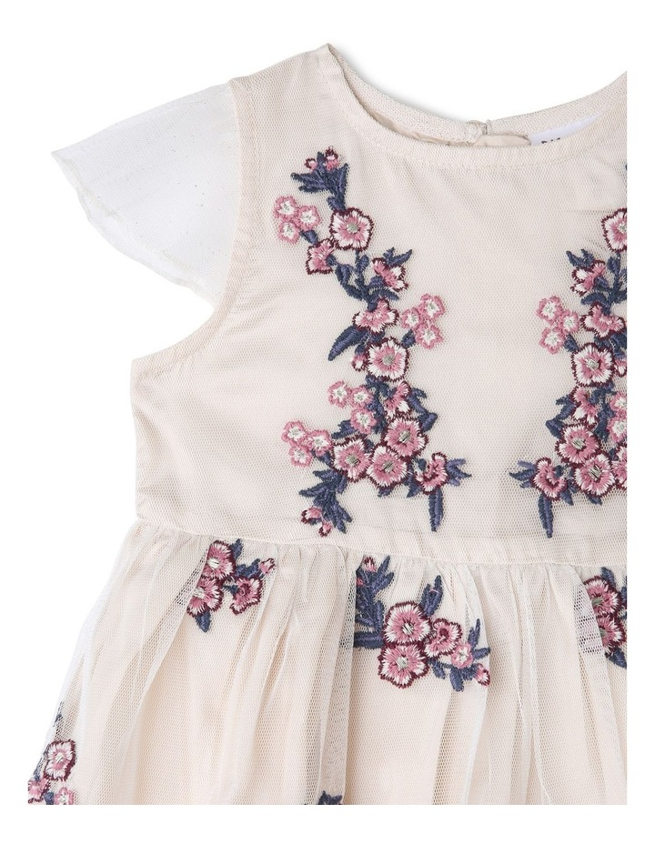 LAURA EMBROIDERED DRESS (0-2 YEARS) image 3