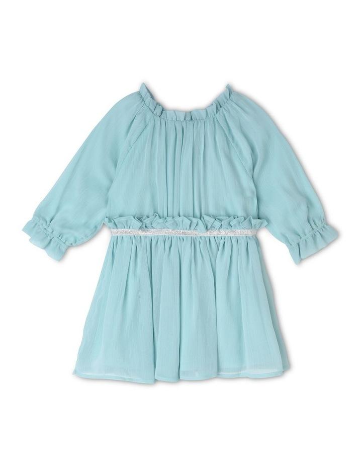 Sienna Crinkle Chiffon Dress (0-2 Years) image 1