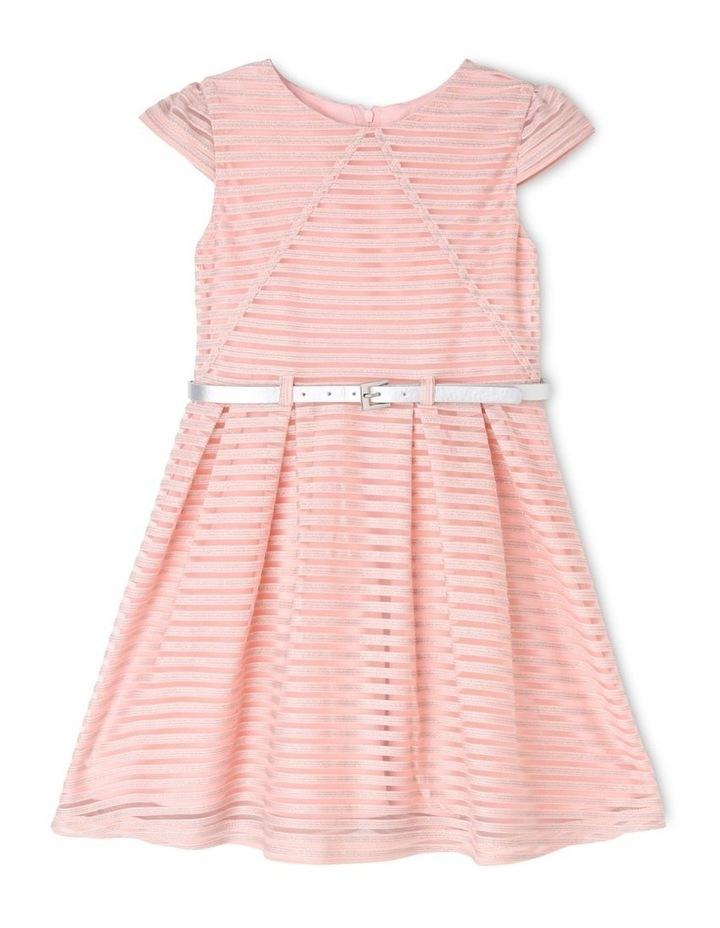 Sophie Glitter Stripe Dress (3-8 Years) image 1