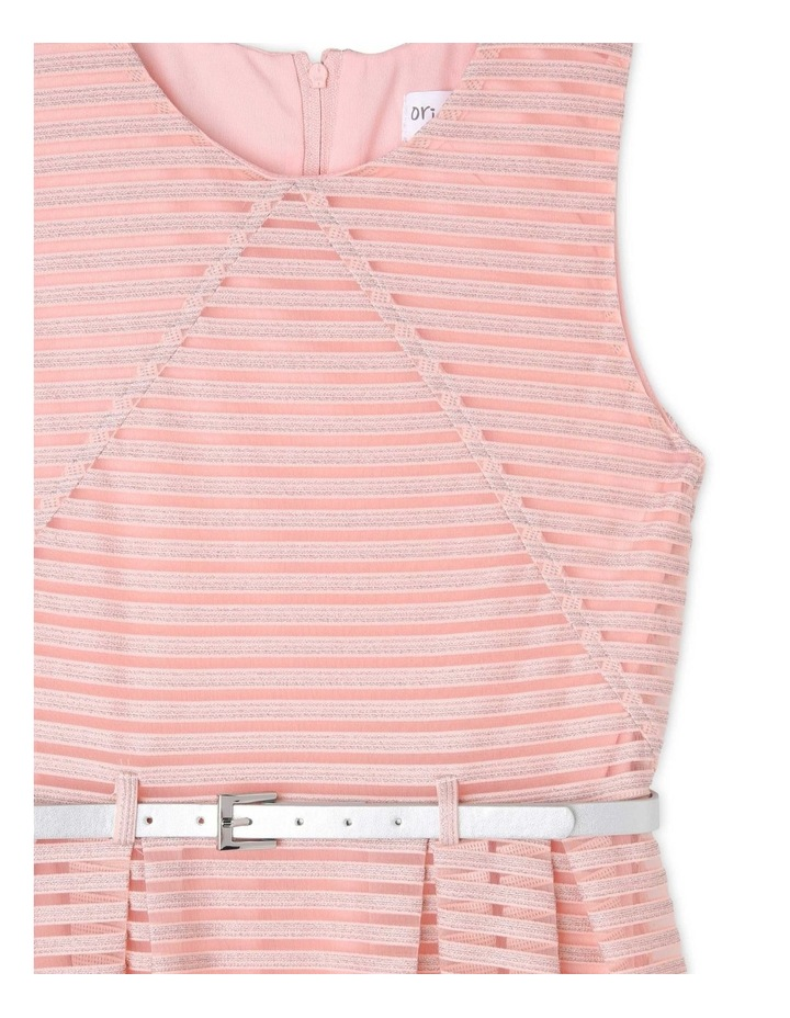 Sophie Glitter Stripe Dress (9-16 Years) image 2