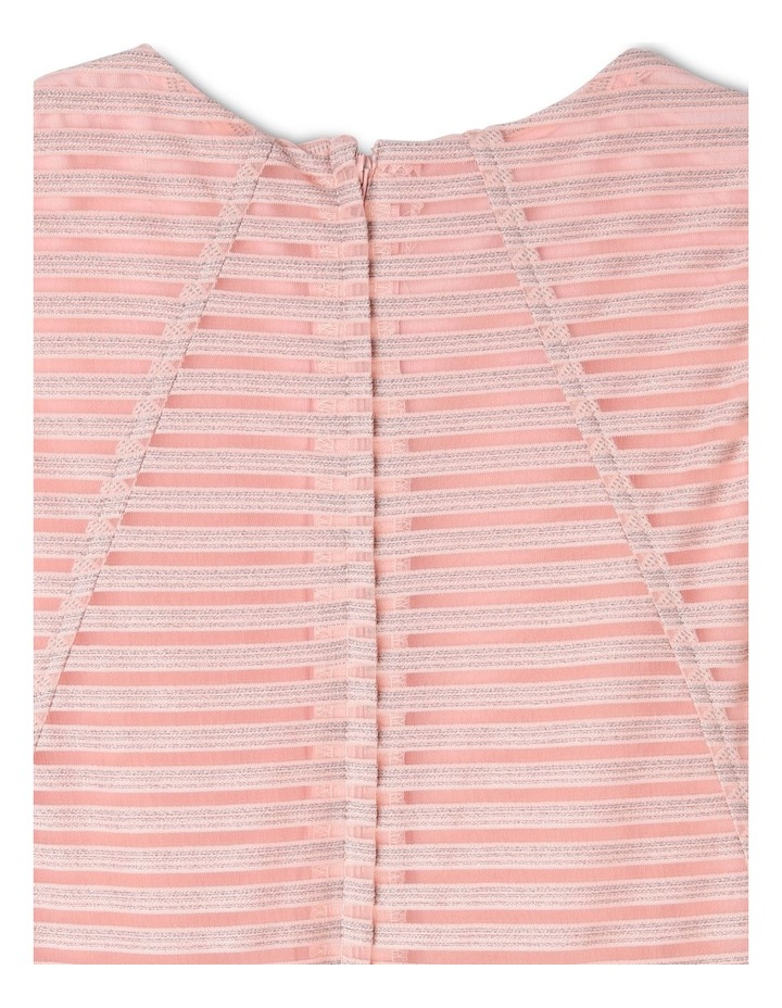 Sophie Glitter Stripe Dress (9-16 Years) image 3