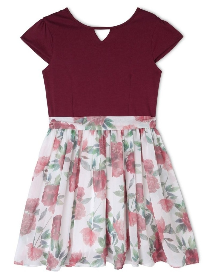 Zoe Floral Skirt Dress (9-16 Years) image 1