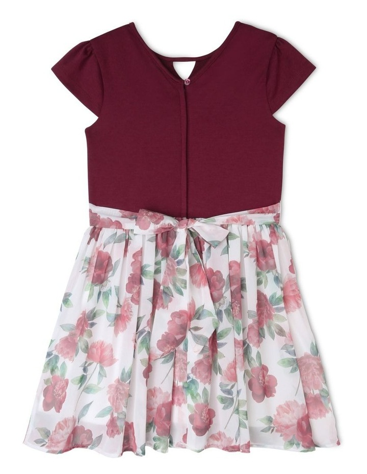 Zoe Floral Skirt Dress (9-16 Years) image 2