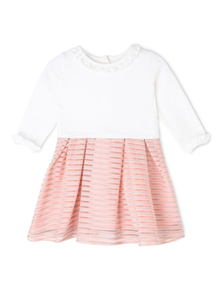 Sophie Glitter Stripe Dress (0-2 Years) image 1