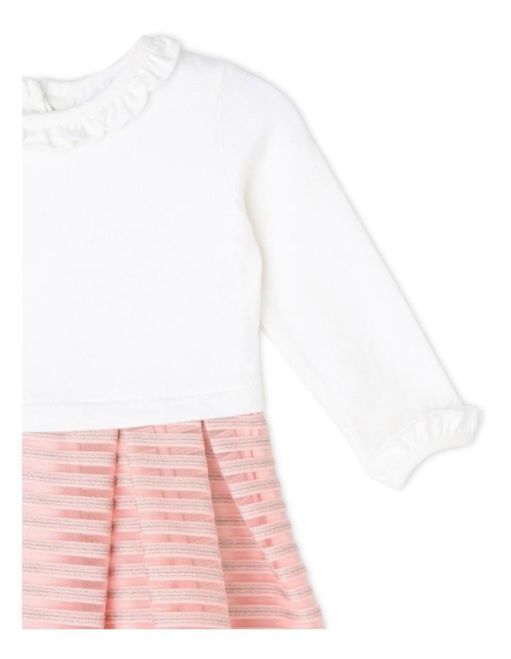 Sophie Glitter Stripe Dress (0-2 Years) image 2