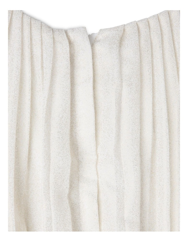 MIA IVORY AND GOLD WOVEN PARTY DRESS (9-16 YEARS) image 3