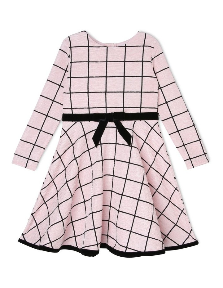 Hannah Pink Dress with Bow (3-8 Years) image 1