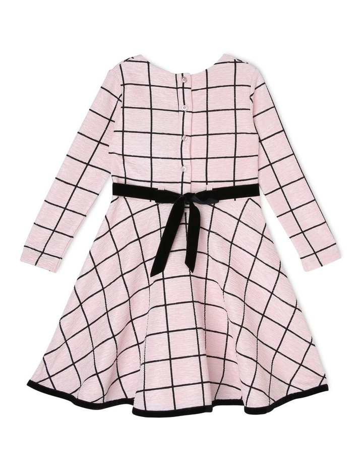 Hannah Pink Dress with Bow (3-8 Years) image 2