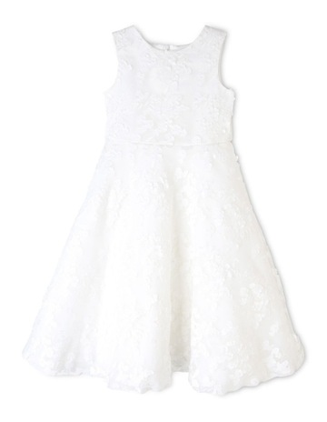 1118165d343 OrigamiWhite Label Lace Flower Girl Dress (3-8 Years). Origami White Label  Lace Flower Girl Dress (3-8 Years)